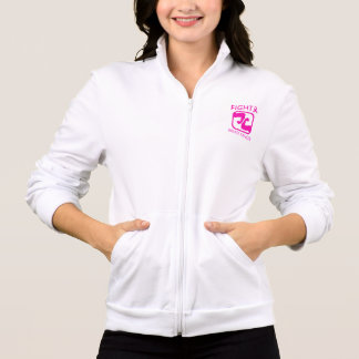 Jaqueta Dobrando os braços para lutar o cancro da mama