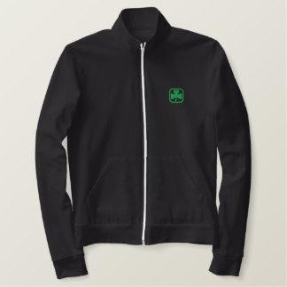 Jaqueta Esportiva Bordada Afortunado para ser irlandês