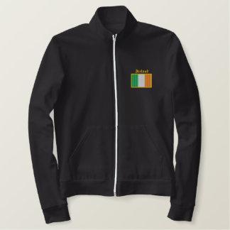 Jaqueta Esportiva Bordada Bandeira de Ireland