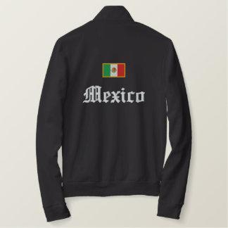 Jaqueta Esportiva Bordada Bandeira de México