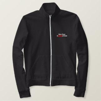 Jaqueta Esportiva Bordada Camisas bordadas revolução de Ron Paul