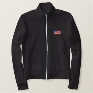 Jaqueta Esportiva Bordada EUA - Toda americano