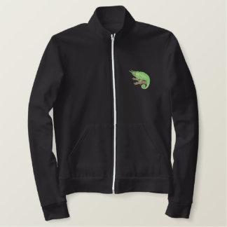 Jaqueta Esportiva Bordada O camaleão de Jackson