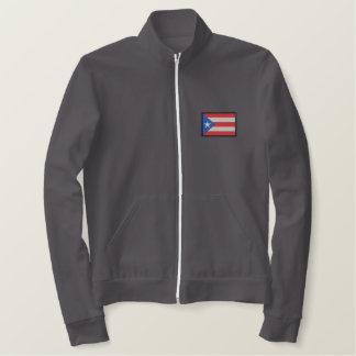 Jaqueta Esportiva Bordada Puerto Rico