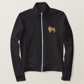 Jaqueta Esportiva Bordada Sheepdog de Shetland