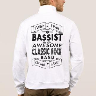 Jaqueta Grupo de rock clássico impressionante do BAIXISTA