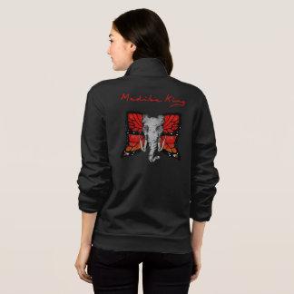 Jaqueta hoodie de fato de treino