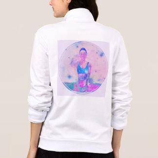 Jaqueta Ioga obtida sua camisola traseira