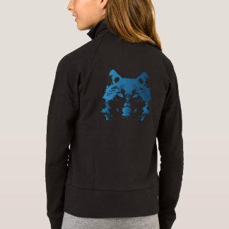 Jaqueta Lobo do azul de gelo da ilustração