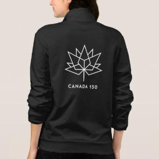 Jaqueta Logotipo do oficial de Canadá 150 - preto e branco