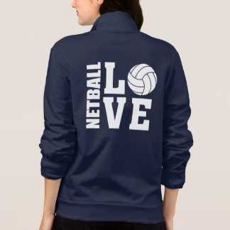 Jaqueta Netball final do amor dos jogadores I do Netball