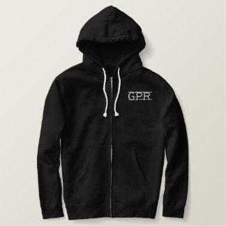 Jaqueta pesada bordada logotipo de GPR