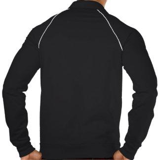 Jaqueta preto e branco da trilha do #InstaDogWalk Jaquetas Estampadas