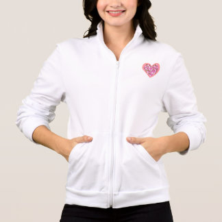 Jaqueta Tema cor-de-rosa da flor de Sakura