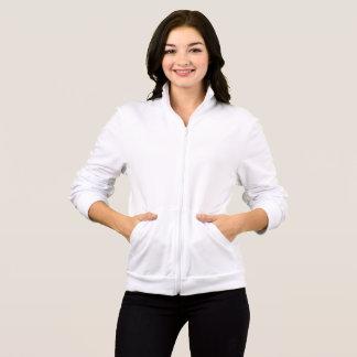 Jaqueta Velo americano de Califórnia do roupa das mulheres