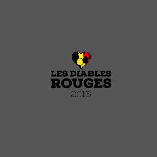 9498f5060f Jaqueta Vermelhos 2016 do EM Les Diables Bélgica