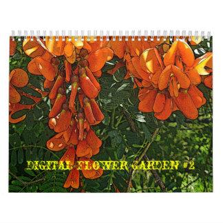 Jardim #2 de Digitas do calendário