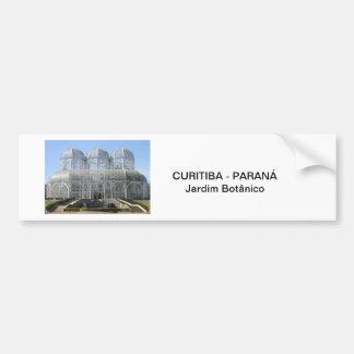 Jardim Botânico - Curitiba - Paraná Adesivo Para Carro