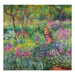 Jardim da íris de Monet no impressão da foto de Gi Impressão De Foto