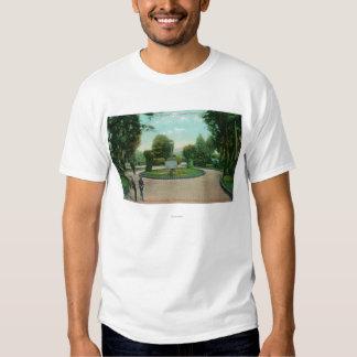 Jardim da opinião de Presidio Camisetas