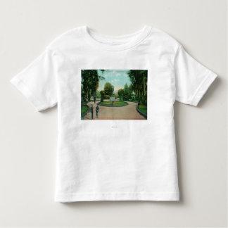 Jardim da opinião de Presidio T-shirt