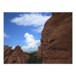 Jardim de Colorado da ampliação da foto dos deuses