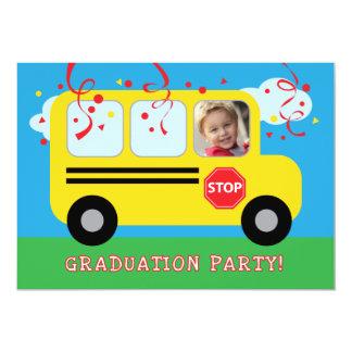 Jardim de infância ou foto Invitat da graduação do Convite