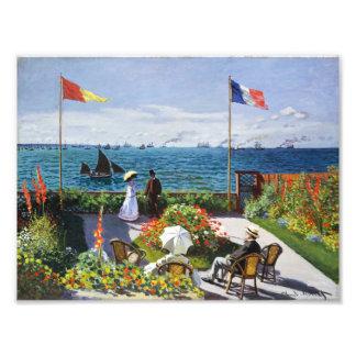 Jardim de Monet em Sainte Adresse Fotos