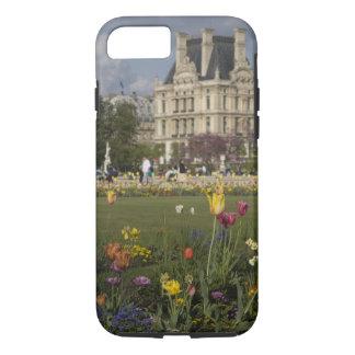 Jardim de Tuileries, Louvre, Paris, France Capa iPhone 7