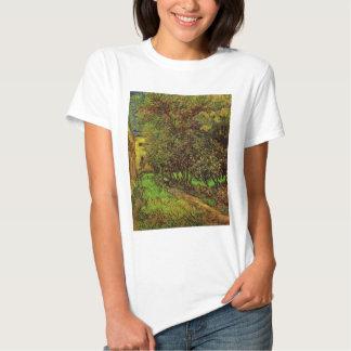 Jardim de Van Gogh do hospital de Saint Paul, T-shirts