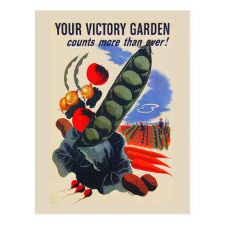 Jardim de vitória cartão postal