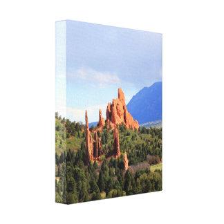 Jardim do impressão das canvas de Colorado do