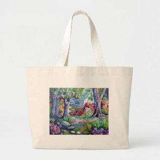 Jardim do país bolsas de lona