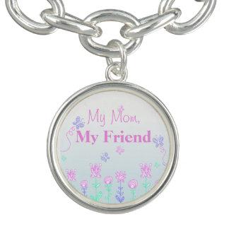 Jardim do verão minha mamã meu bracelete do amigo