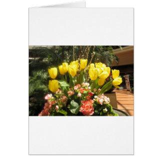 Jardim dourado da borboleta de Las Vegas da mostra Cartão Comemorativo