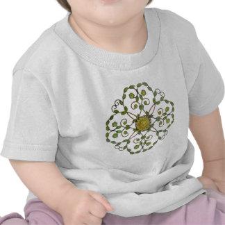 Jardim floral t-shirts
