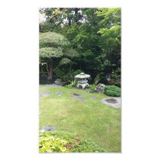 Jardim japonês foto artes