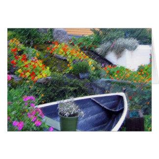 """Jardim norueguês "" Cartão"