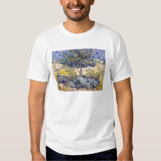 Jardim Vincent van Gogh do asilo dos arbustos das T-shirt