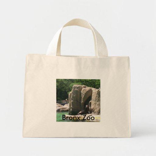 Jardim zoológico de Bronx Bolsas Para Compras