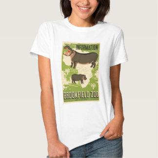Jardim zoológico de Brookfield Camisetas