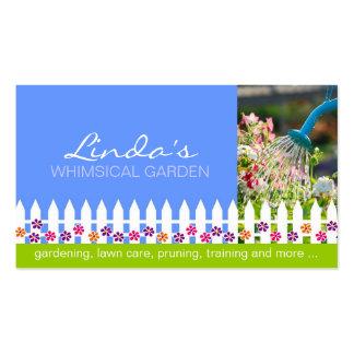 Jardinagem - cartão de visita