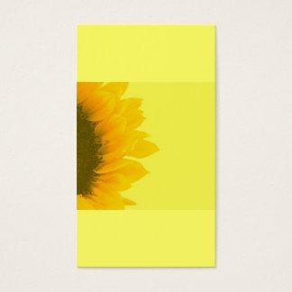 Jardinagem holística do girassol de | cartão de visitas
