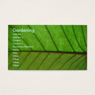 Jardineiro Cartão De Visitas