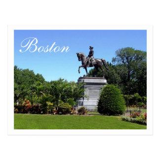Jardins de Boston, cartão de Boston Massachusetts