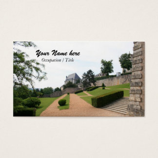Jardins de Chartres Cartão De Visitas