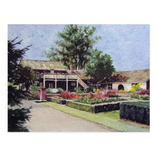 Jardins giratórios no cartão de Janesville