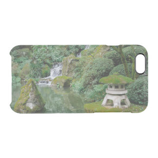Jardins japoneses calmos capa para iPhone 6/6S transparente