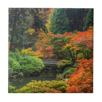 Jardins japoneses no outono em Portland, Oregon 5