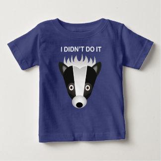 Jaritataca - t-shirt fino do jérsei do bebê camiseta para bebê